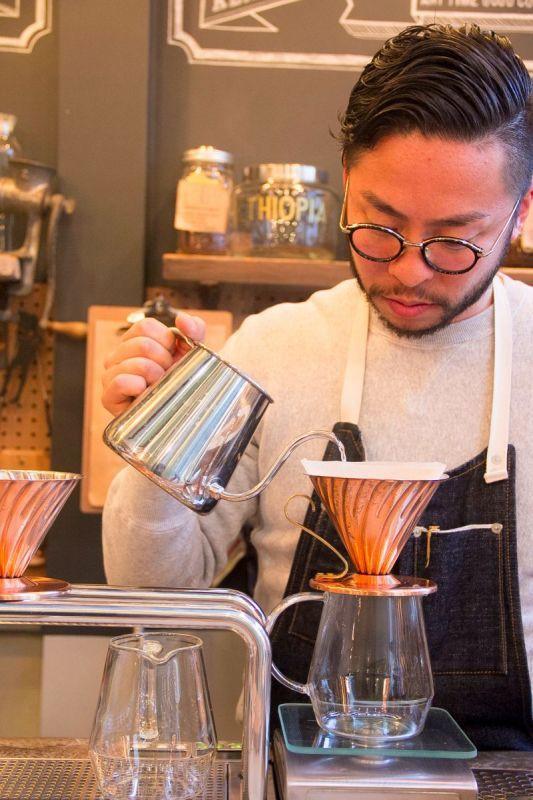下町情緒あふれる日本橋の、クラシックなコーヒースタンド『mighty step coffee stop』でコーヒーの淹れ方を教わってきました Vol.11
