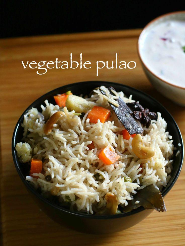veg pulao recipe | vegetable pulav in pressure cooker recipe - http://hebbarskitchen.com/veg-pulao-vegetable-pulav-cooker-recipe/