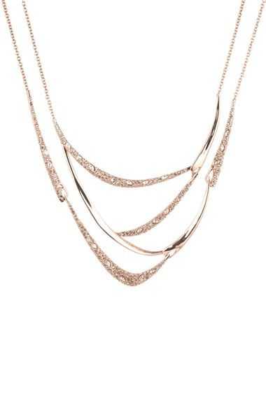 Alexis Bittar 'Miss Havisham' Bib Necklace available at #Nordstrom