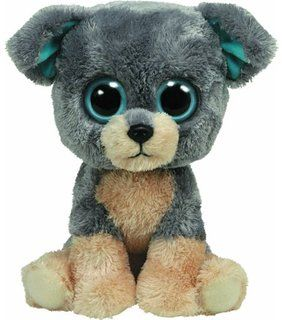 TY - TY36910 - Peluche - Beanie Boo's GM - Scraps le Chien - 23 cm