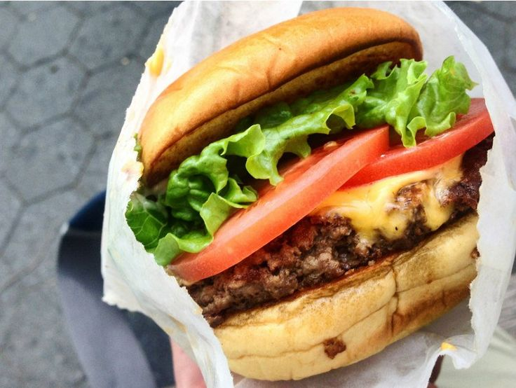 Five #Burgers You Should #Eat While the .@shakeshack  Line Dies Down The first L.A. location opened this morning in West Hollywood to the crazy fanfare you'd expect