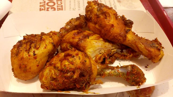 Fiery Grilled Chicken from KFC