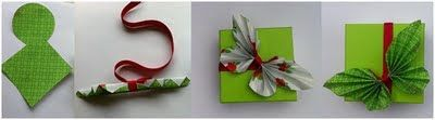 Leuke Lintjes: Papieren vlinder, leuk als deco op je cadeau