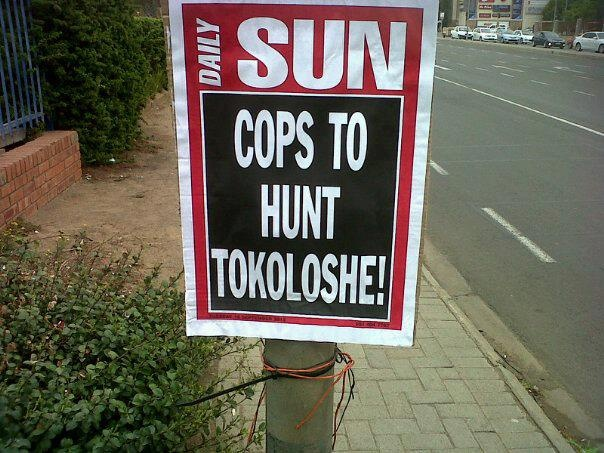 What else can one do other than appreciate South Africa's unique sense of humour?