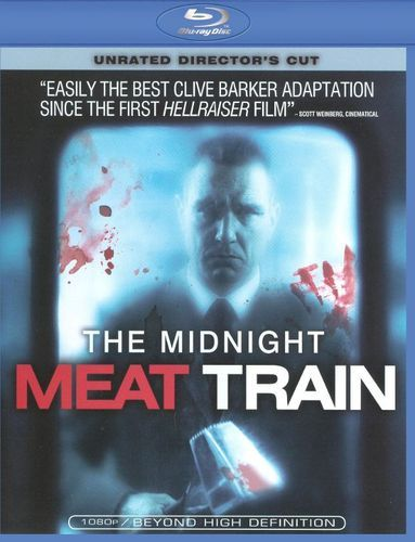 The Midnight Meat Train [Unrated] [Director's Cut] [Blu-ray] [2008]