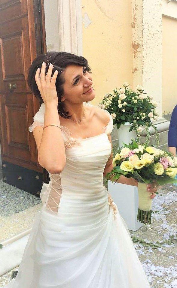 Meravigliosa la nostra sposina! Augurissimi! ♥ con Clara Cicoira #weddingday #matrimonio #love #sposi #instamoment #loveisintheair #dday #insieme #youandme