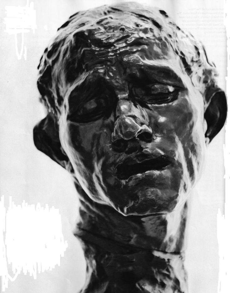 Head of Pierre de Wissant, Auguste Rodin