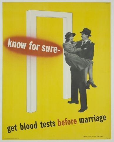 This public health poster, intended to help fight the scourge of inbreeding, was quickly cancelled thanks to political correctness.  Typical.