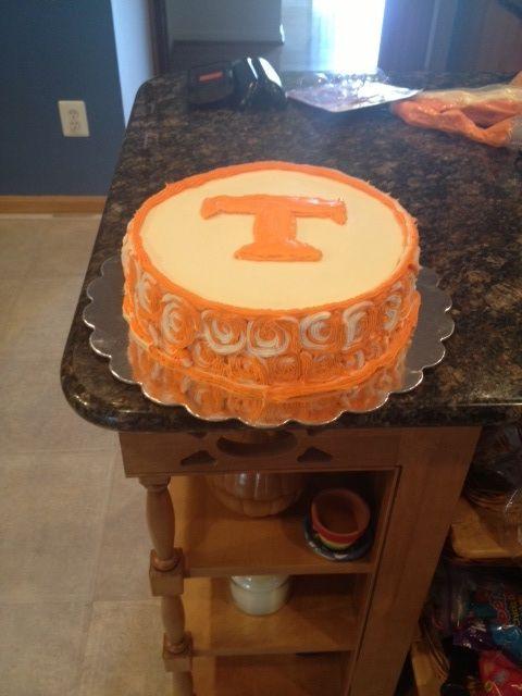 Tenn Vols Cake
