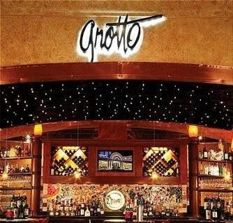 Best Downtown Italian Restaurant is Grotto at the Golden Nugget Las Vegas...Been here, it is great!