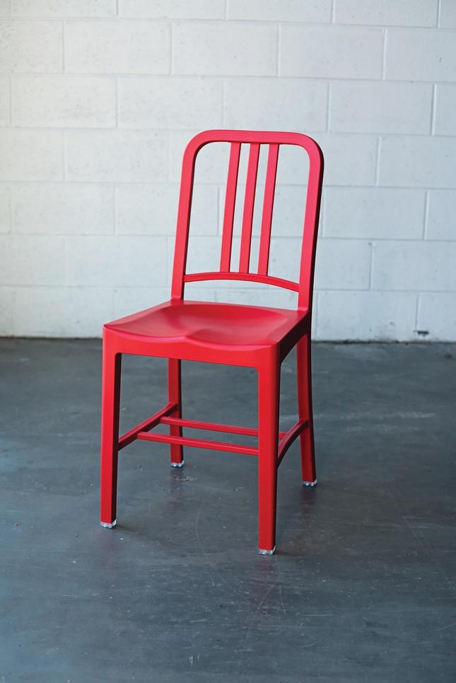 emeco 111 navy chair portrait chair