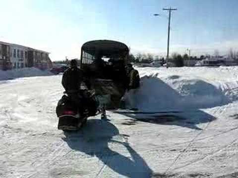 Redneck Snowmobile Hauler
