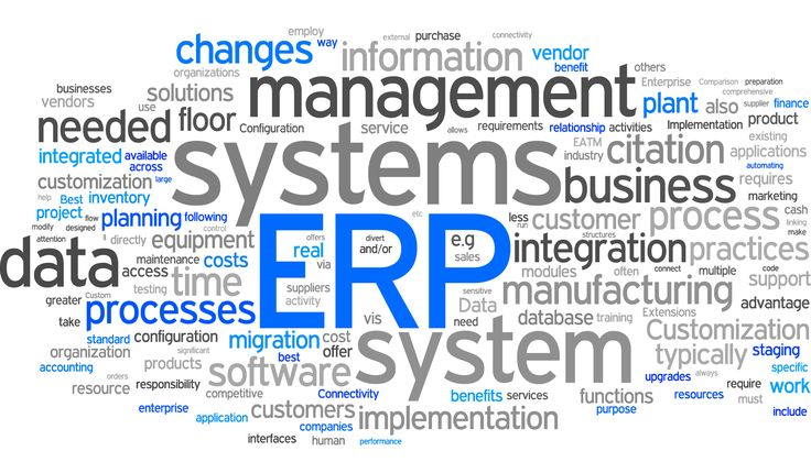 #ERP allow you to #Control and #organize things via #Integrated #applications to #automate and #manage #backoffice and #business.