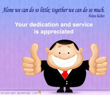 employee appreciation quotes and sayings | Your attitude and work level suits us here, and we are glad that we ...