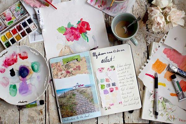 // 365 Days of Art Journalling