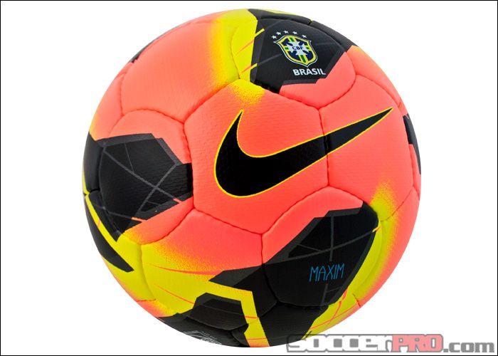 Nike Brasil Maxim Soccer Ball - Mango with Black...$134.99 ...