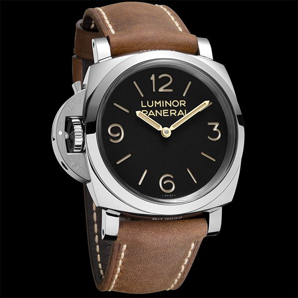 There are some watches which on their first appearance come across as true icons of a brand, from their ability to communicate their identity and history through their design. OFFICINE PANERAI Luminor 1950 Left-Handed 3 Days - 47mm (See more at En/Fr/Es: http://watchmobile7.com/articles/officine-panerai-luminor-1950-left-handed-3-days-47mm) (1/4) #watches #montres #relojes #officinepanerai #pam00557 @Officine Fotografiche Roma Fotografiche Roma Fotografiche Roma Panerai