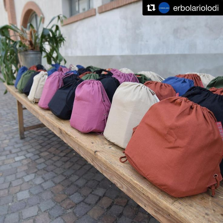 Summer has gone...but we cannot stop to feel it with @erbolariolodi 🌞👙🌱 Colorful and easy-to-wear cotton! #UpToGoodIdeas #brandnewideas #bag #sacca #zainetto #summer2017 #cotton #cotone #colors #beach #spiaggia #cremasolare #nature #beauty #2017project #ourclients