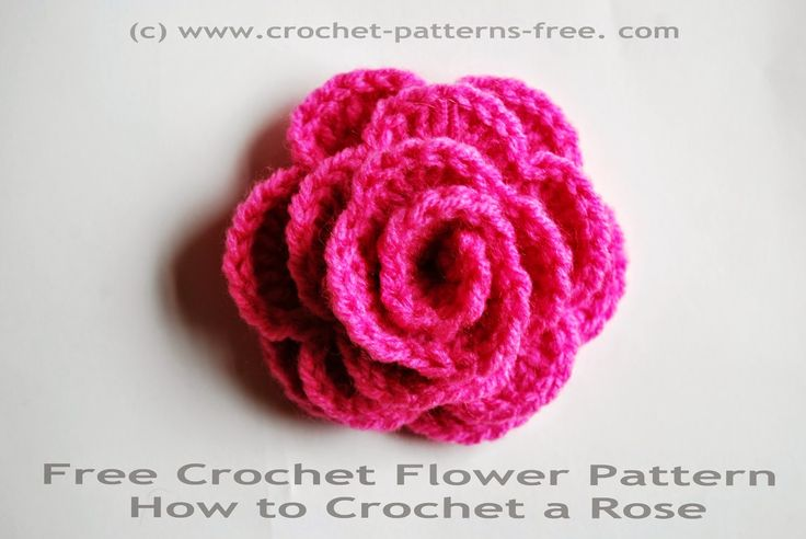 Modern Crochet Flower Pattern : 500 best images about FLORES on Pinterest