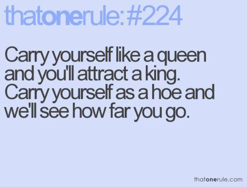 ThatoneRule: Quote, The Queen