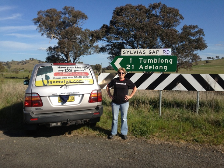Gametag visits Adelong on the way to Wagga NSW   http://www.youtube.com/watch?v=Wcy5hUlZuc4
