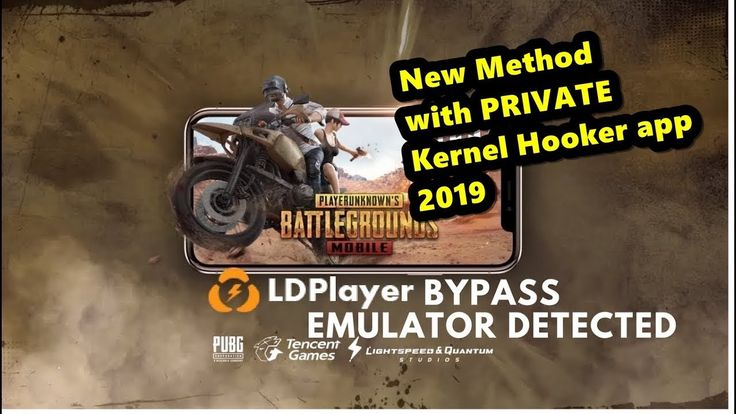 Bypass Emulator Detected PUBG Mobile LDplayer - We are players