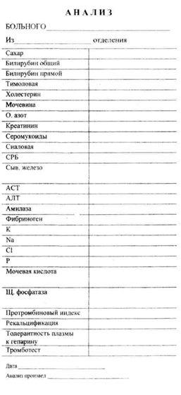 Анализ крови на биохимический направление биохимический перевод крови русский на анализ