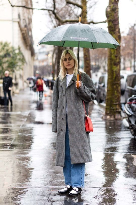 100% humidity: 72 street style inspirations for a wet weather day - Vogue Australia
