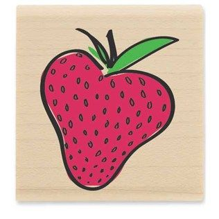 Strawberry Rubber Stamp | Shop Hobby Lobby