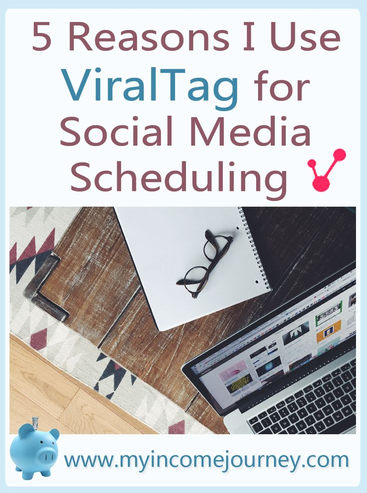 Five reasons I use ViralTag for my social media scheduling. Save time on Pinterest, Facebook, Twitter, and more with unlimited posts. Definitely a must have tool for bloggers and blogging!