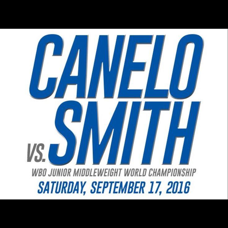 Canelo Alvarez Vs Liam Smith WBO Title Fight September 17 | Tru ...