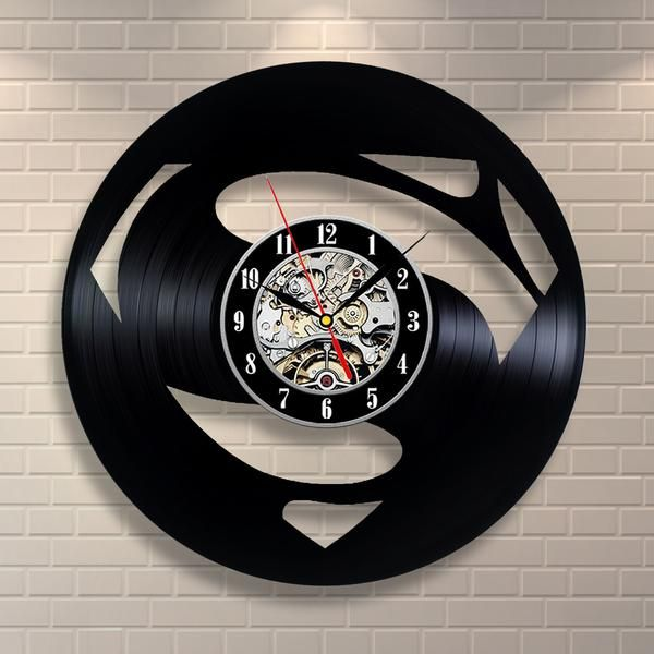 Fantastic Vinyl Record Wall Clock*** Fast Worldwide Shipping! ***- BEST GIFT FOR ANY OCCASION – get rid of the hard choice of a present, be sure your friend, bo