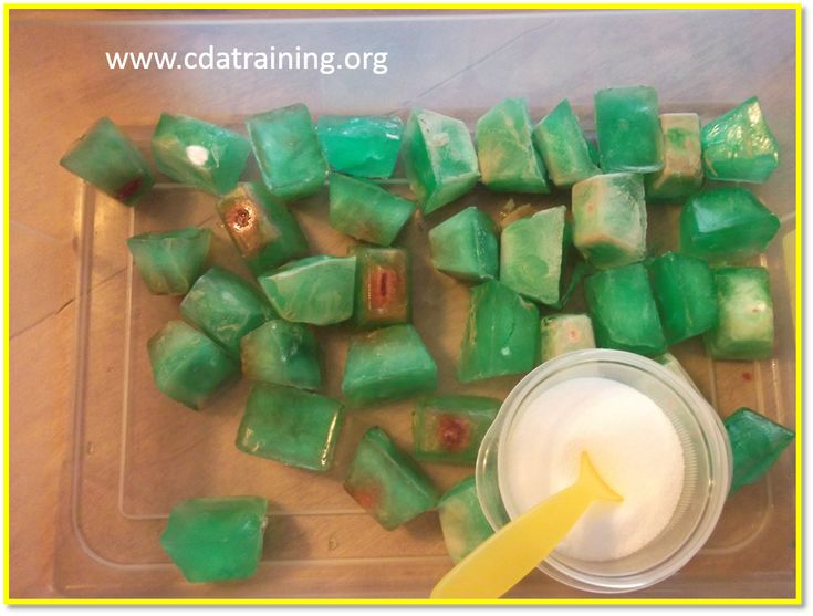 Grinch Melt a heart activity for How the Grinch Stole Christmas theme day