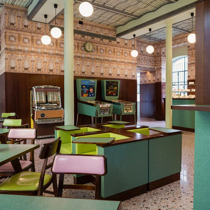 In/Out: Bar Luce by Wes Anderson