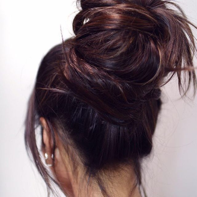 Ever Wonder If You Can Wear Your Hair Up With Nbr Extensions The Answer Is Yes Yes Yes And Ho Long Hair Styles Bun Hairstyles For Long Hair Bun Hairstyles