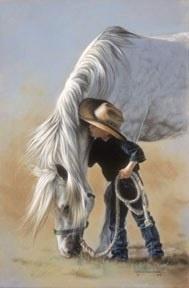 future cowboy    so cute: Lesleyharrison, Sweet, Horses, Lesley Harrison, Art Prints, Whisperer Prints, Pictures, Future Cowboys, Animal