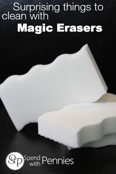 Surprising things you can clean with a Magic Eraser! - Spend With Pennies