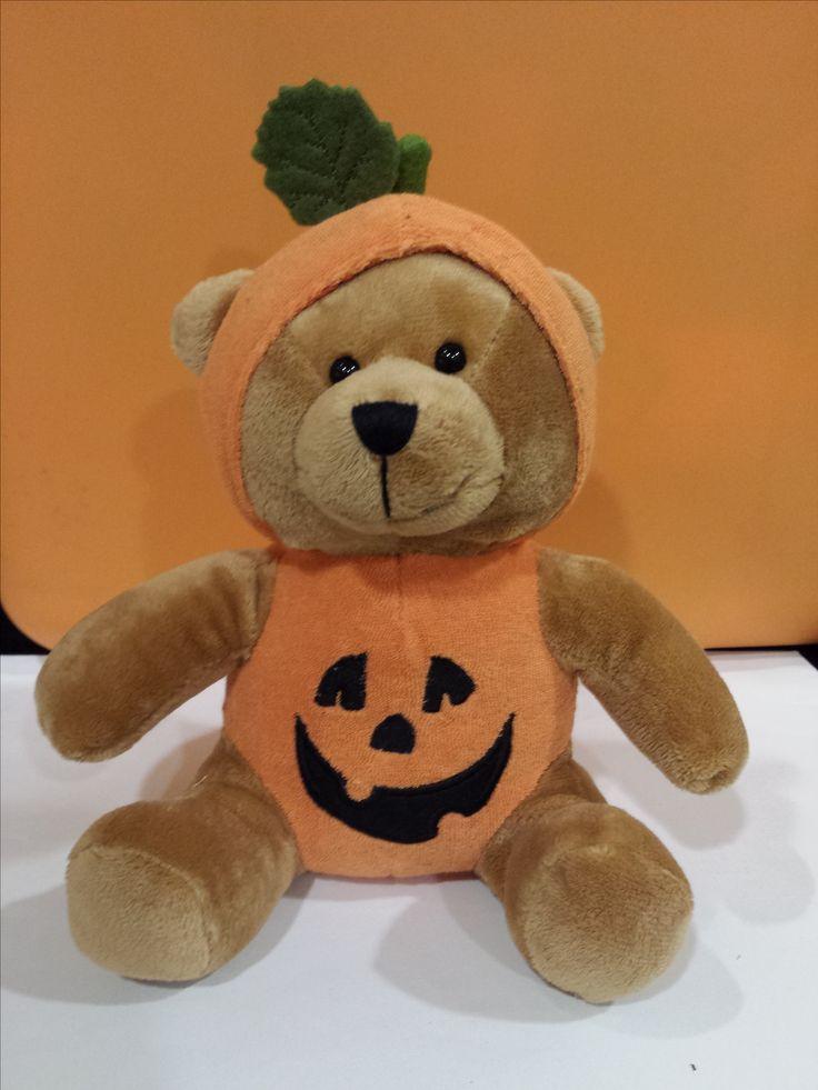 Halloween Pumpkin Bear