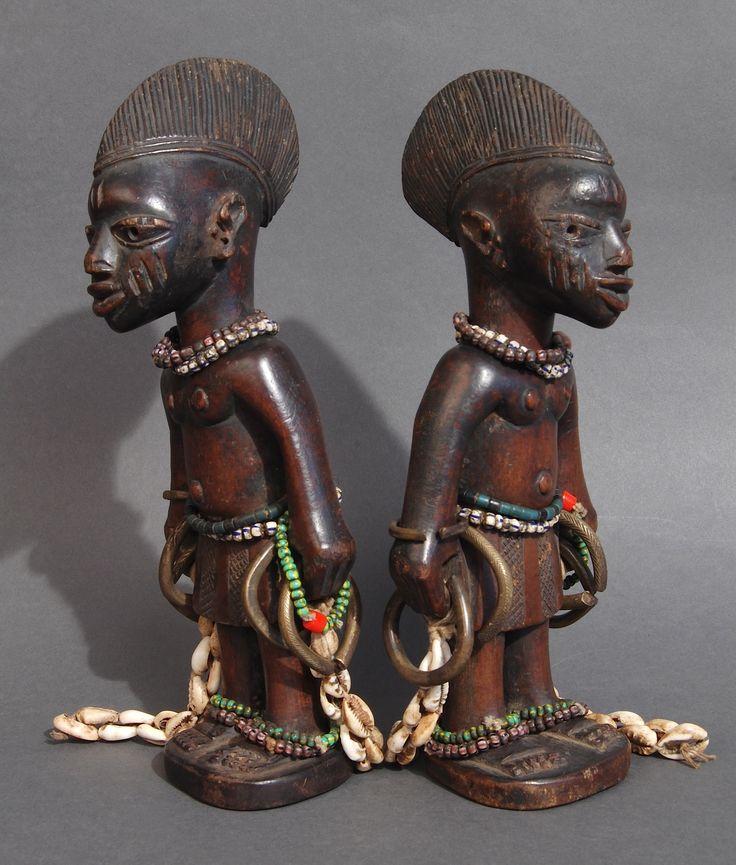 African Sculpture: 275 Best Ibeji Twin Figures Images On Pinterest