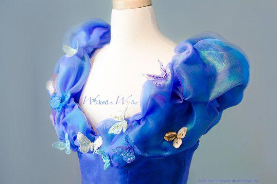 Cinderella Costume 2015 CUSTOM Cinderella Dress by wickedandwonder