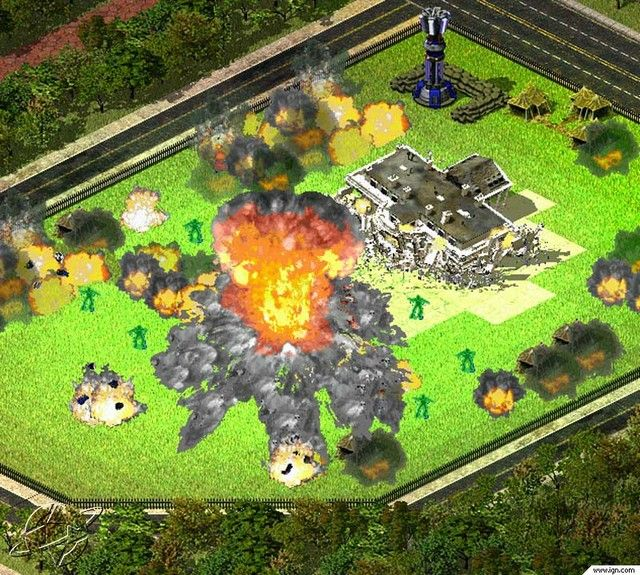 Command & Conquer Red Alert 2 Game Images
