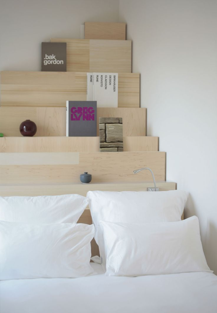 bedroom bookcase champsdemars project - Kopfteil Plant Holzbearbeitung