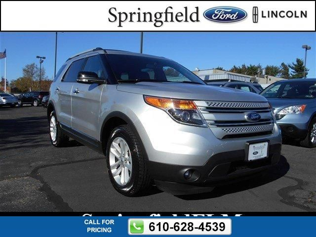 2014 Ford Explorer XLT SILVER $28,777 41598 miles 610-628-4539 Transmission: Automatic  #Ford #Explorer #used #cars #SpringfieldFord #Springfield #PA #tapcars