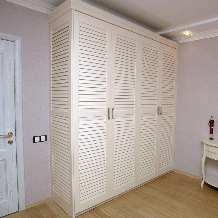 Белые жалюзийные дверцы - Строим Дом