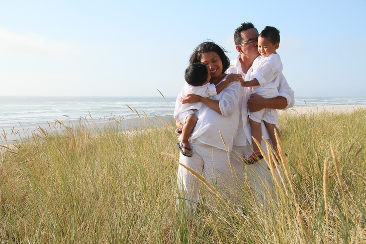 Our #self-shot, #unedited (#SOOC), #maternity/#family shoot at #Rockaway Beach, Oregon.