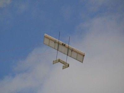 TwingTec lightweight kite harvests wind energy up high
