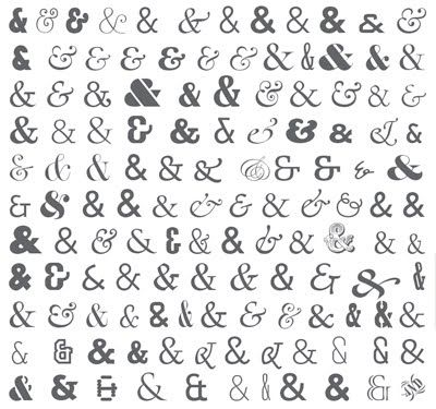 Ampersand But Which Font To Choose