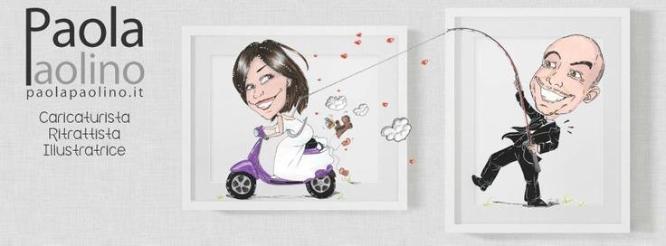 Paola Paolino, caricaturista per matrimoni.   Scopri di più su: http://www.paolapaolino.it/caricaturista-per-matrimoni-ed-eventi/ #caricature #caricatura #caricaturista #ritrattista #illustrazione #arte