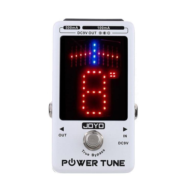 Seulement US$96.41, Tune puissance JOYO True Bypass accordeur de guitare - Tomtop.com
