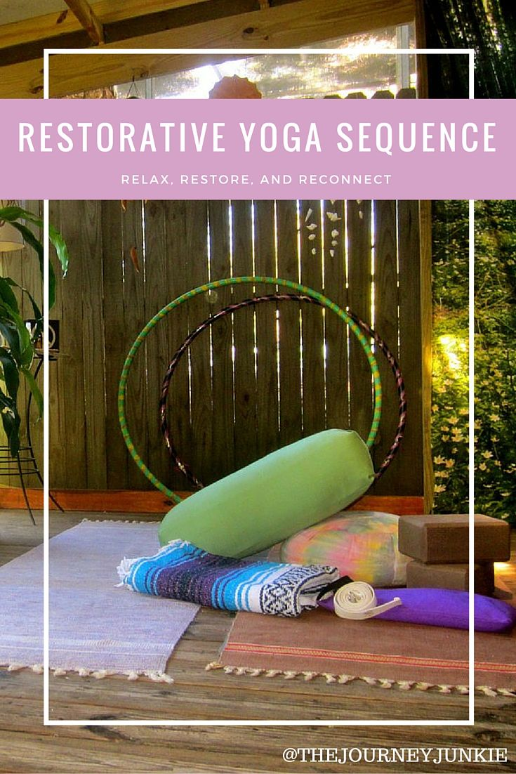 Soften your practice. #restorative #yoga